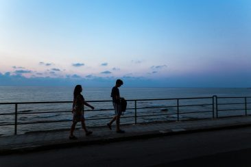 večerná prechádzka