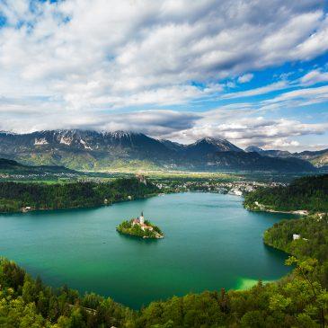 Slovinsko – jazero Bled a tiesňava Vintgar