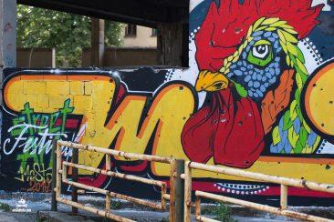 graffiti v Mostare
