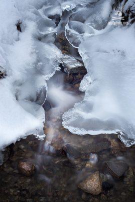 ľadová krása v Nízkych Tatrách