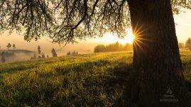 magické ráno pod Poľanou
