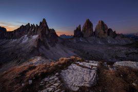 MONTE PATERNO |  TRE CIME | DOLOMITES | ITALY