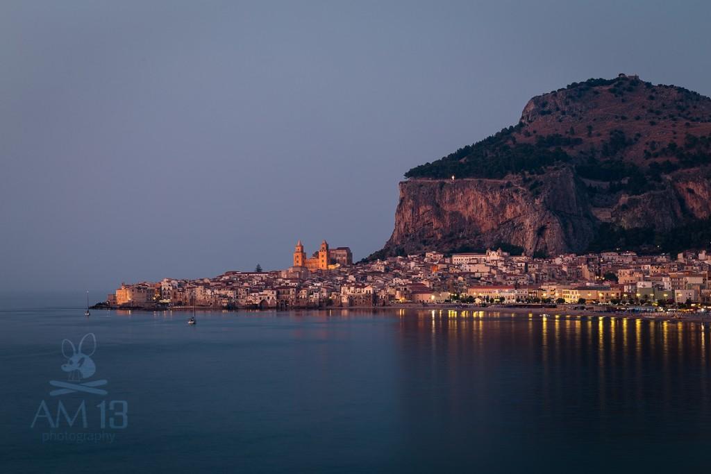 Večer v Cefalú, Sicília
