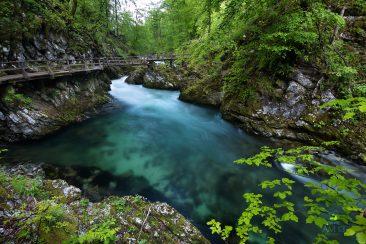 Soteska Vintgar, Slovinsko