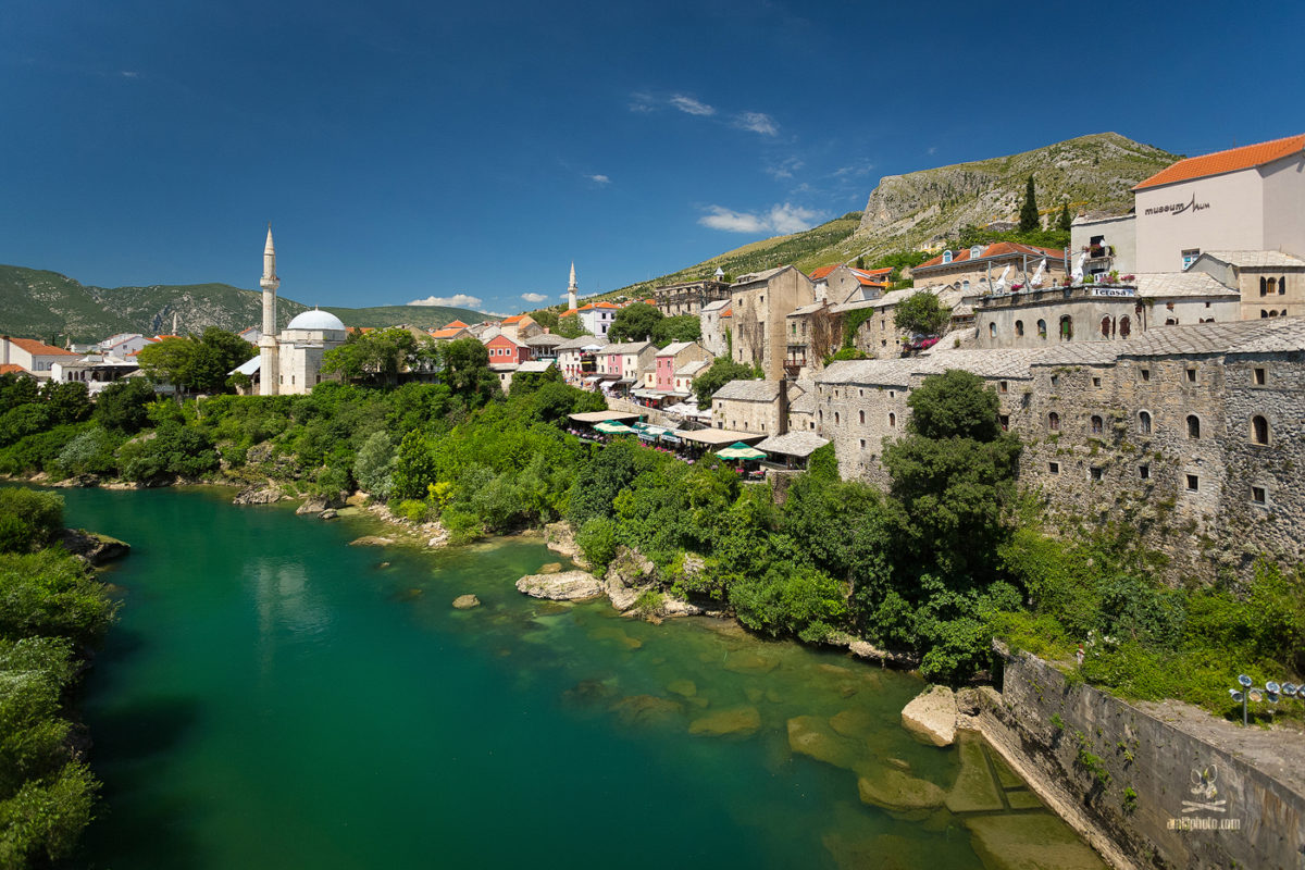 Mostar - moslimská časť
