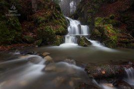 vodopád v Kremnických vrchoch