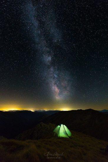 Noc pod hviezdami, Fagaraš, Rumunsko