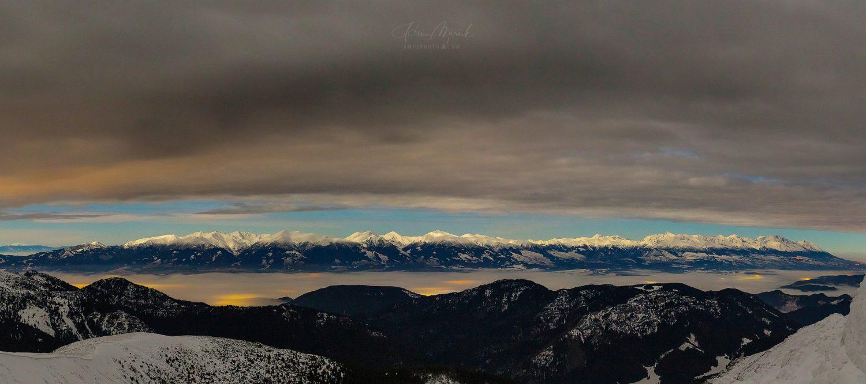 Vysoké Tatry | Pohľad z Nízkych Tatier