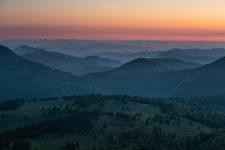 Pred východom slnka vo Veľkej Fatre