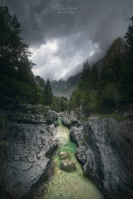 Soča valley   Slovinsko