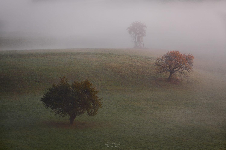 Ranné hmly na Podpoľaní