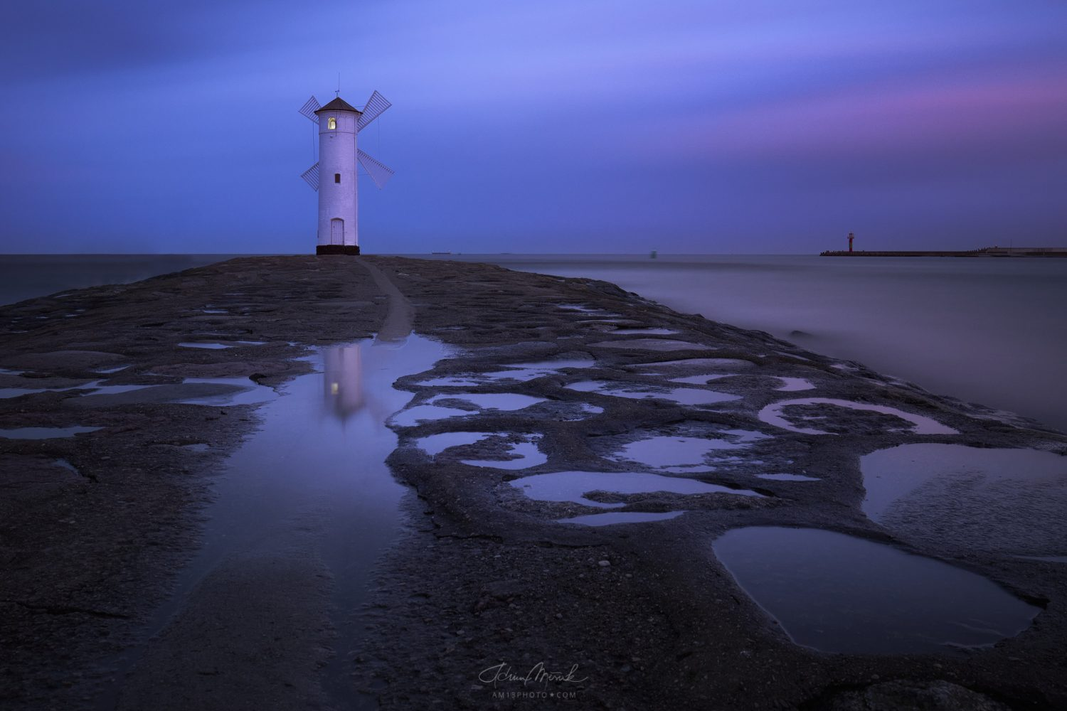Swinoujscie, Poland, longexposure