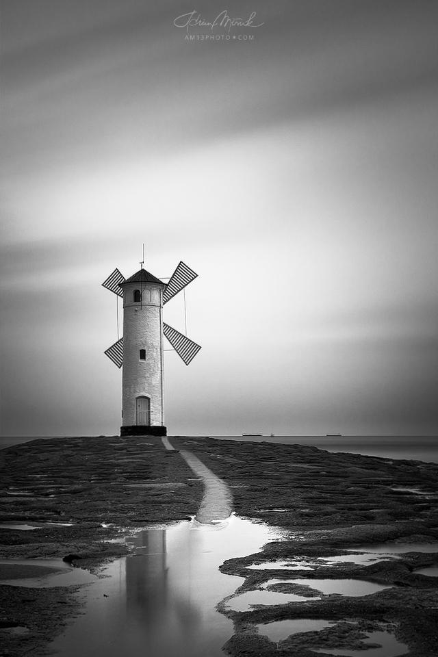 Stara latarnia morska, Baltic coast