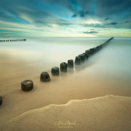 Baltic coast, Long exposure, Lee Big stopper filter