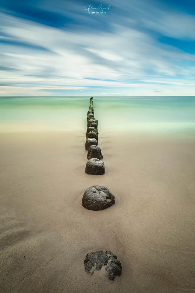 Baltic long exposure, Lee Big Stopper