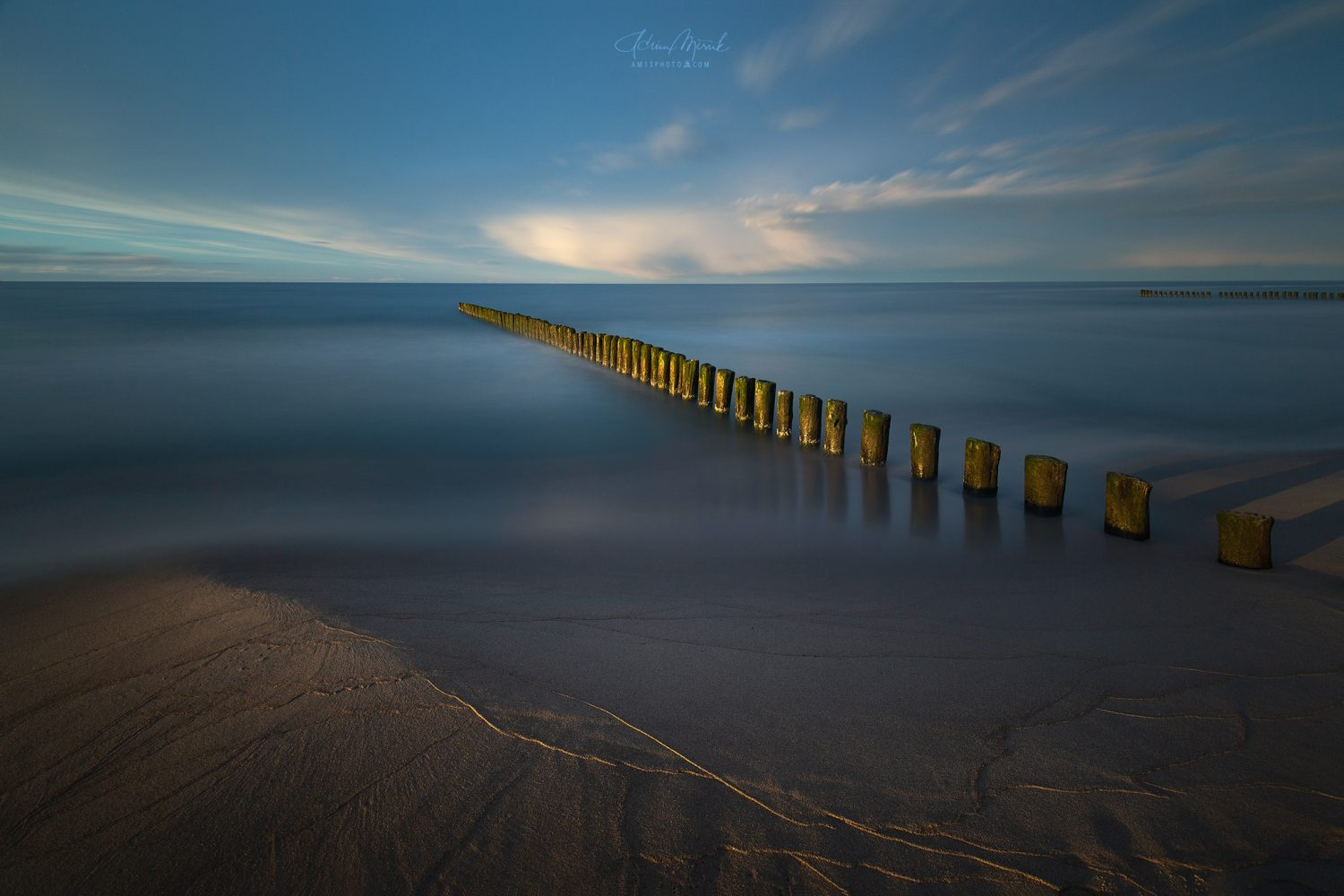Baltické more, Long exposure, Lee Big stopper filter
