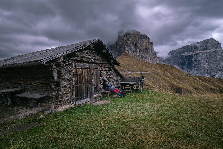 Autor v Dolomitoch