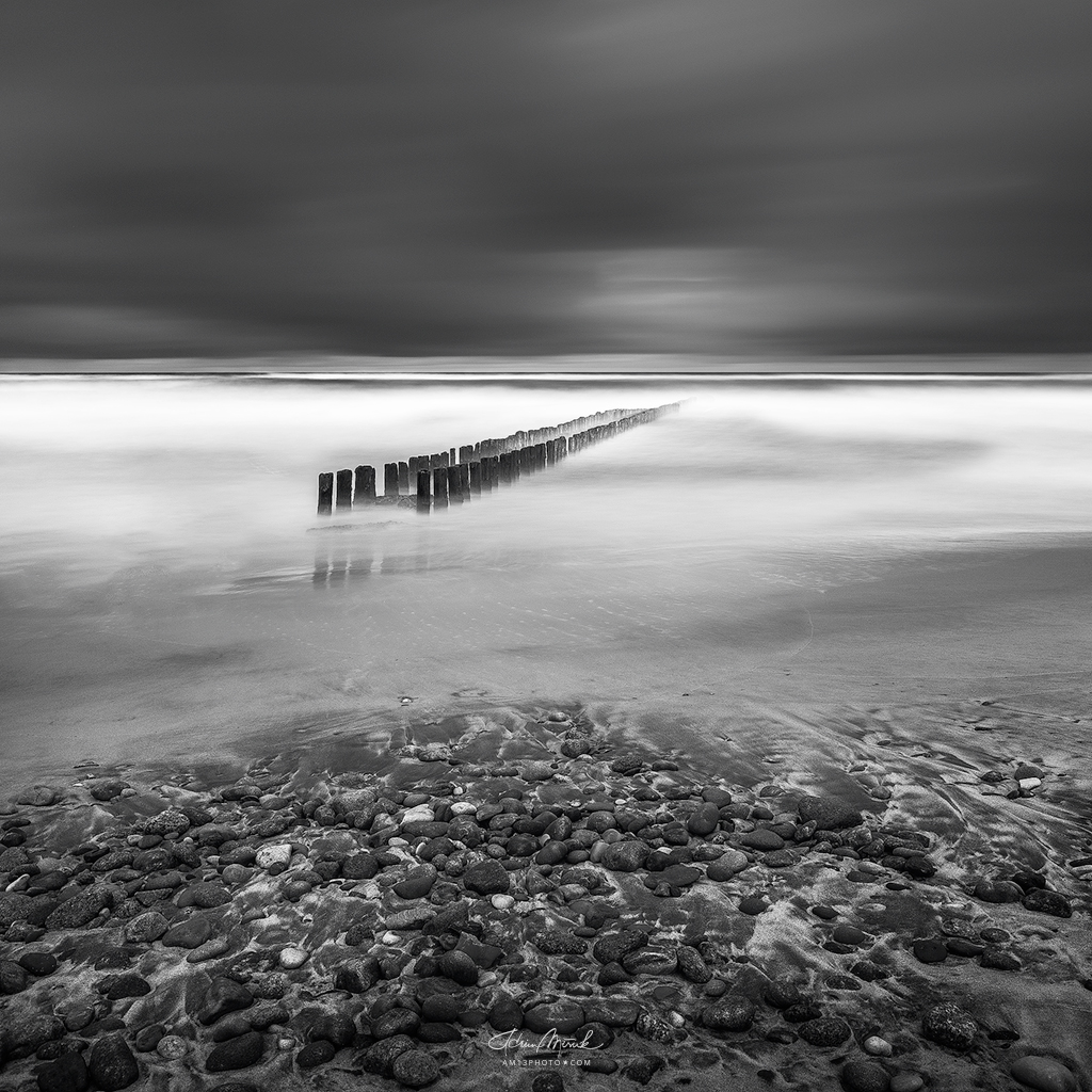 Long exposure from Baltic coast